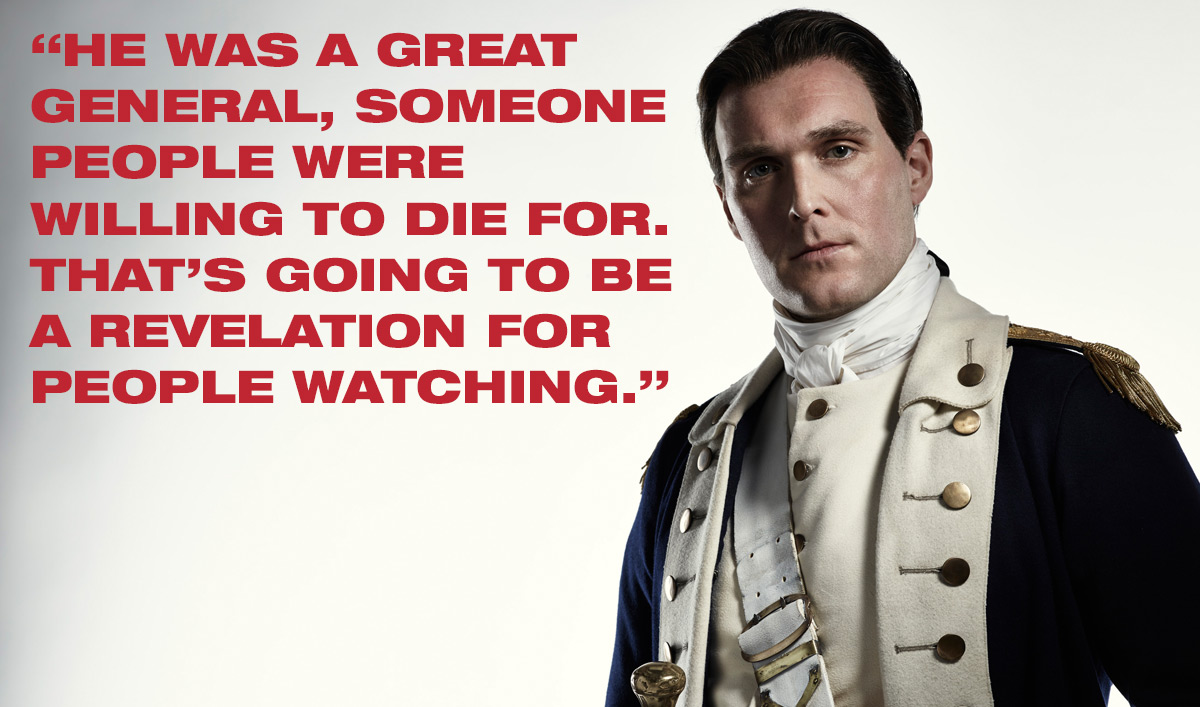 <em>TURN: Washington's Spies</em> Q&A – Owain Yeoman (Benedict Arnold)