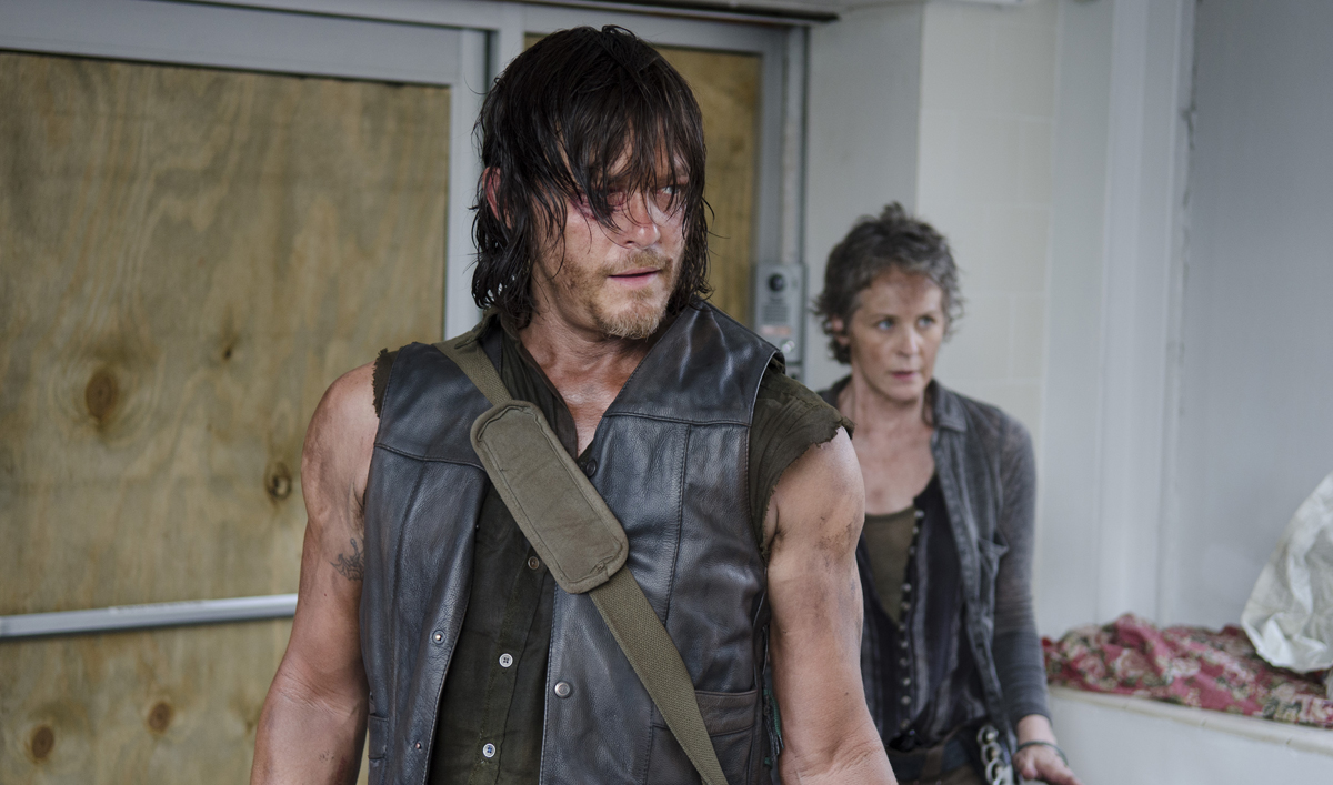 Norman Reedus, Crossbow Appear on <em>SNL</em>; Melissa McBride Explains Carol&#8217;s Actions