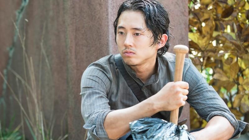 <em>The Walking Dead</em> Q&A – Steven Yeun (Glenn)
