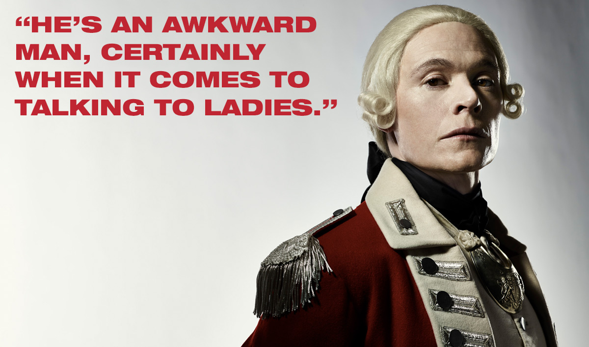 <em>TURN: Washington's Spies</em> Q&#038;A – Burn Gorman (Major Hewlett)