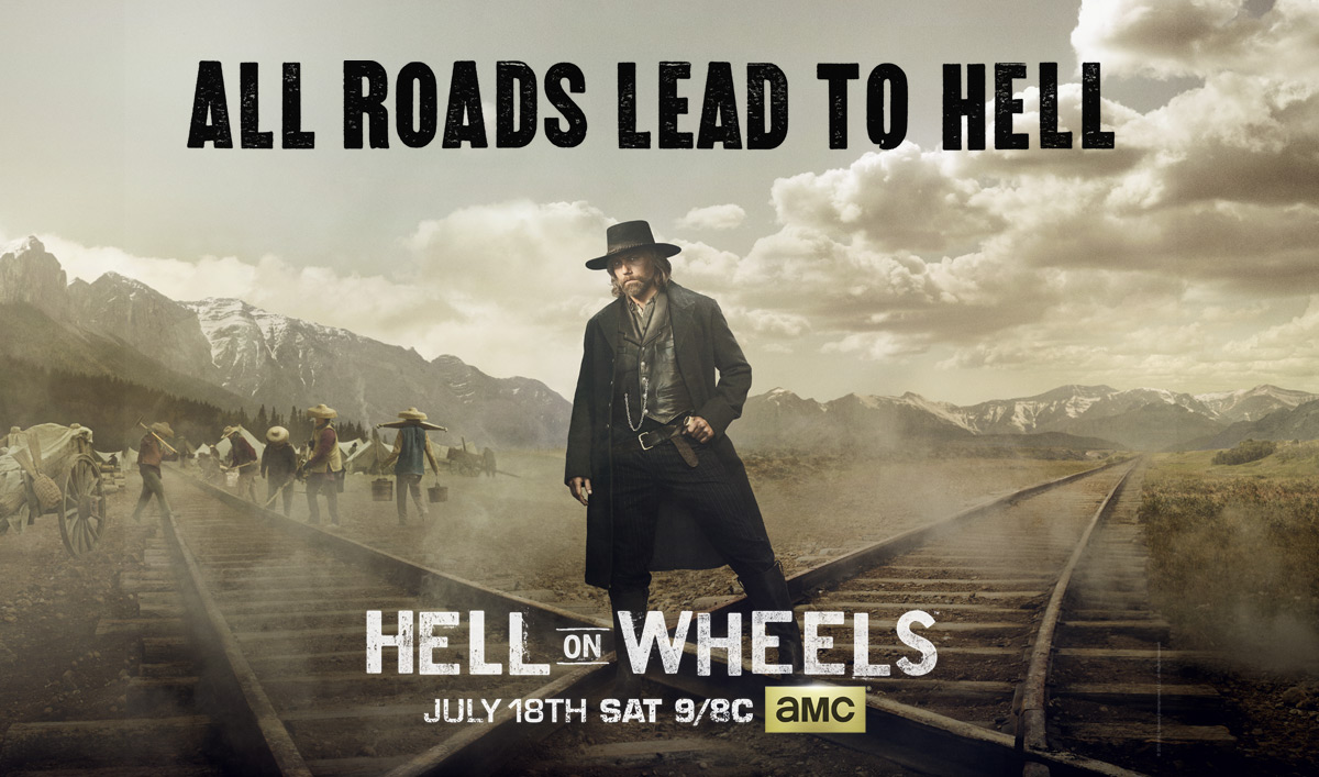 Trailer and Poster Released for <em>Hell on Wheels</em> Season 5