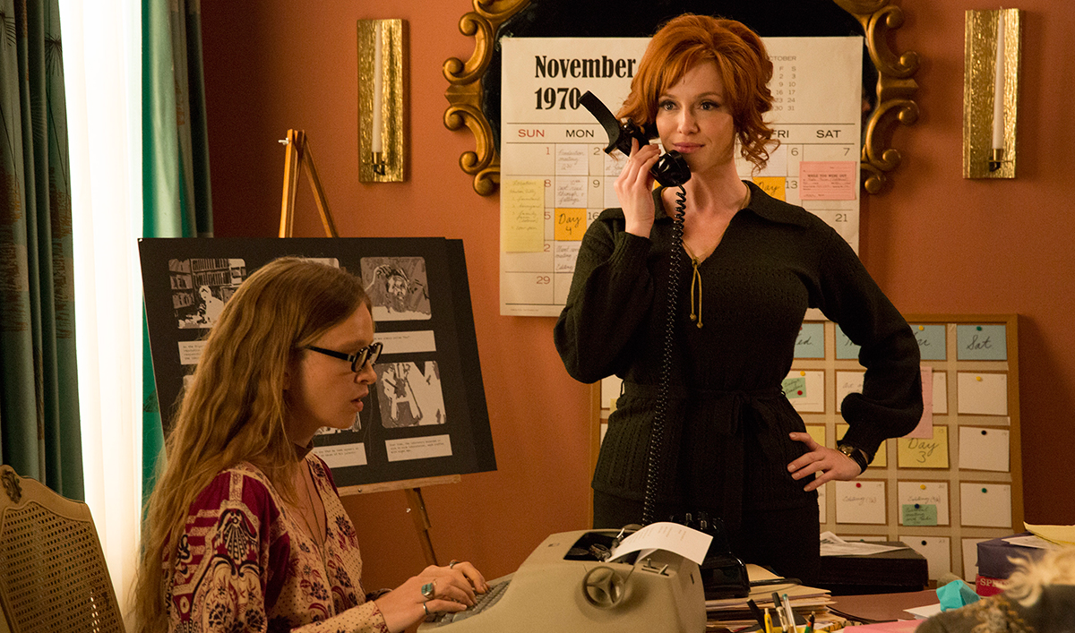 Christina Hendricks on Joan&#8217;s Ending; Matthew Weiner Touts <em>Mad</em> Cast