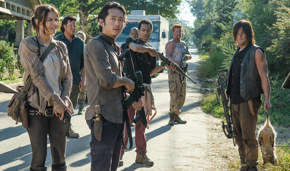 Gale Anne Hurd Talks to <em>L.A. Times</em>; Robert Kirkman Chats With <em>EW</em>