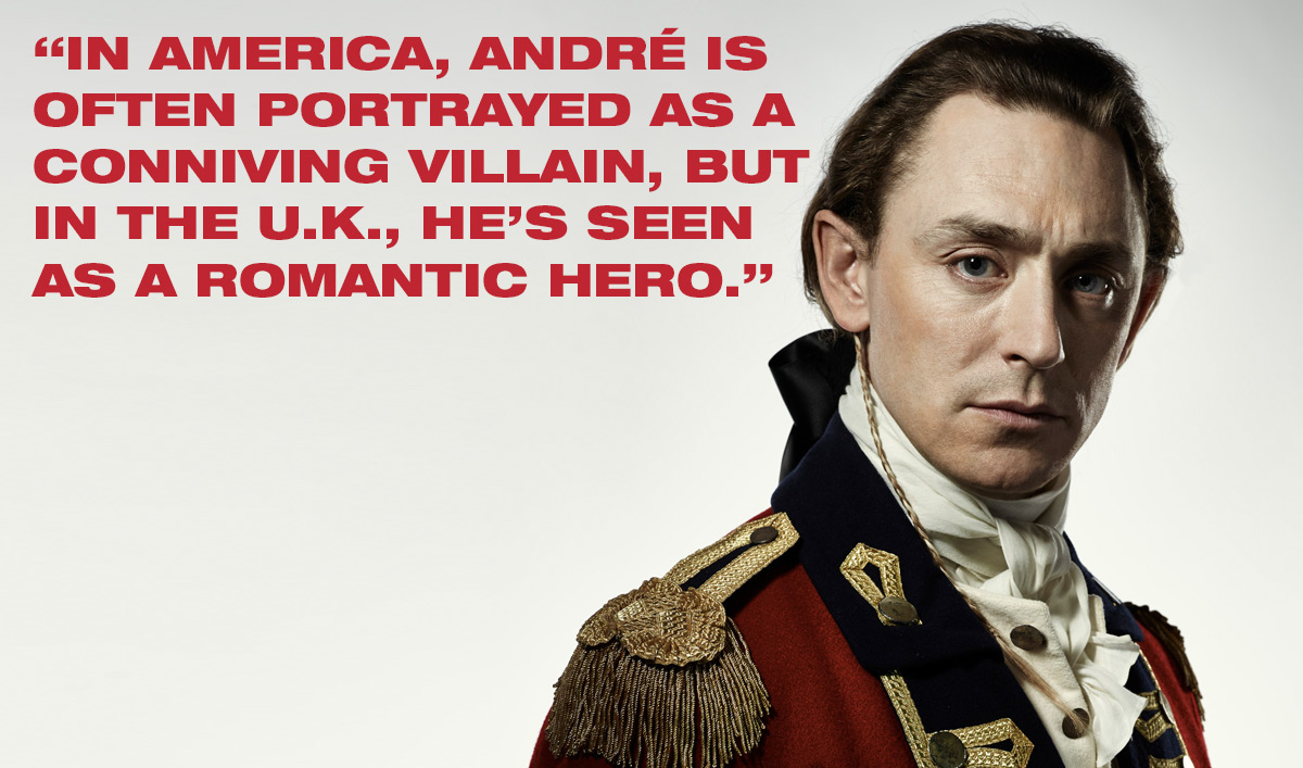 <em>TURN: Washington&#8217;s Spies</em> Q&#038;A &#8211; JJ Feild (Major John André)