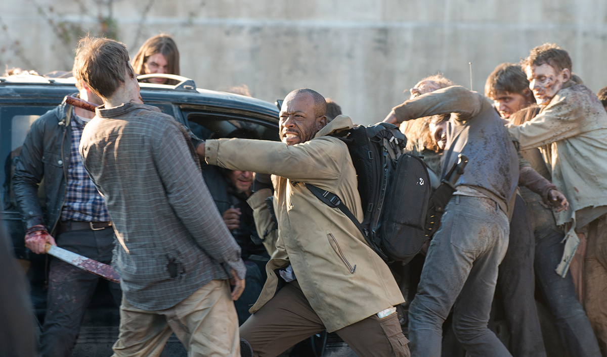 Lennie James on Morgan's Return; <em>Dead</em>'s New Decaying Walkers
