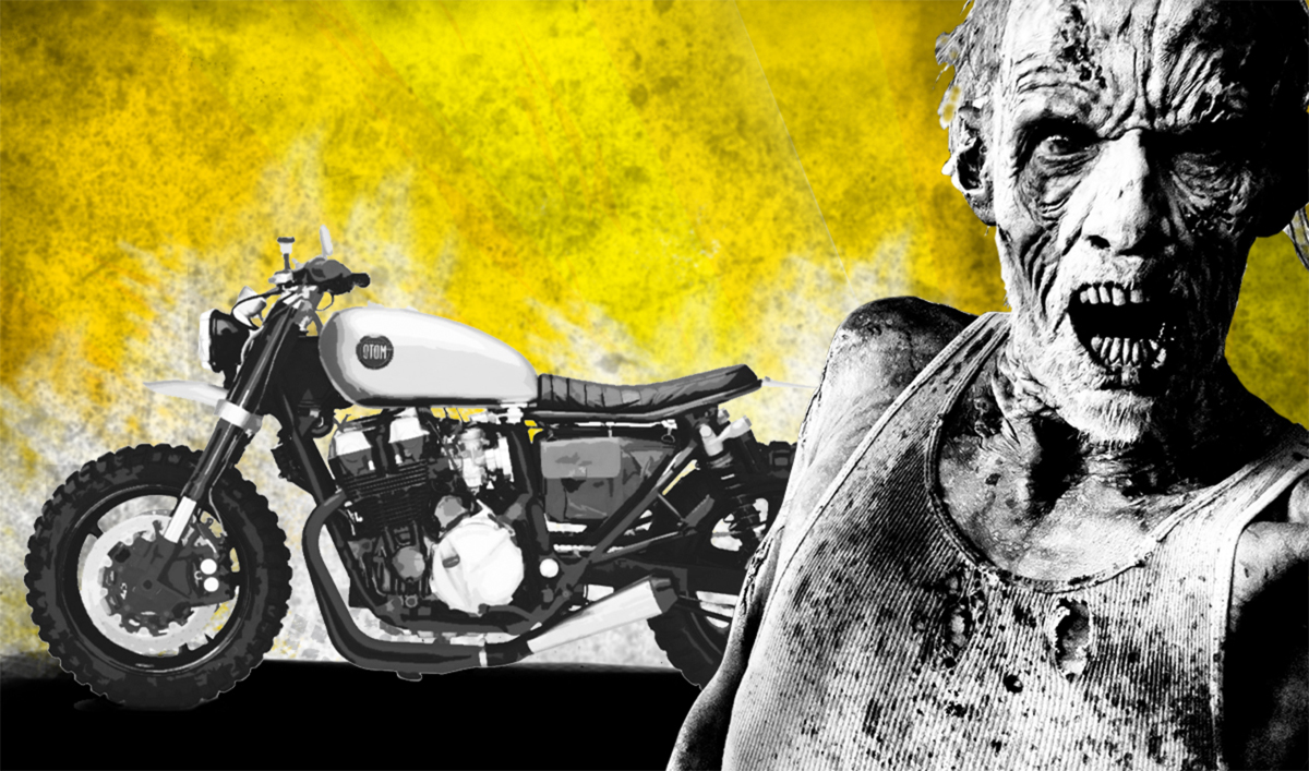 Enter the Snap to Ride Sweeps for a Chance to Win a Bike Like Daryl Dixon's