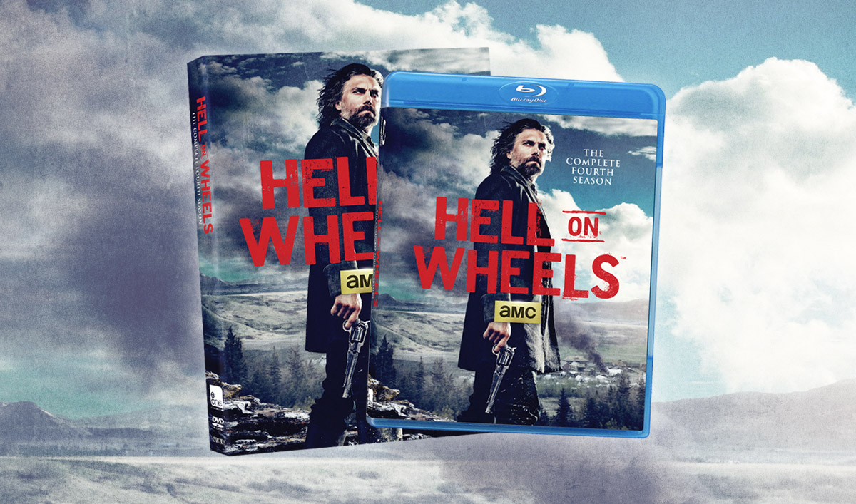 <em>Hell on Wheels</em>: The Complete Fourth Season Now Available on DVD and Blu-ray