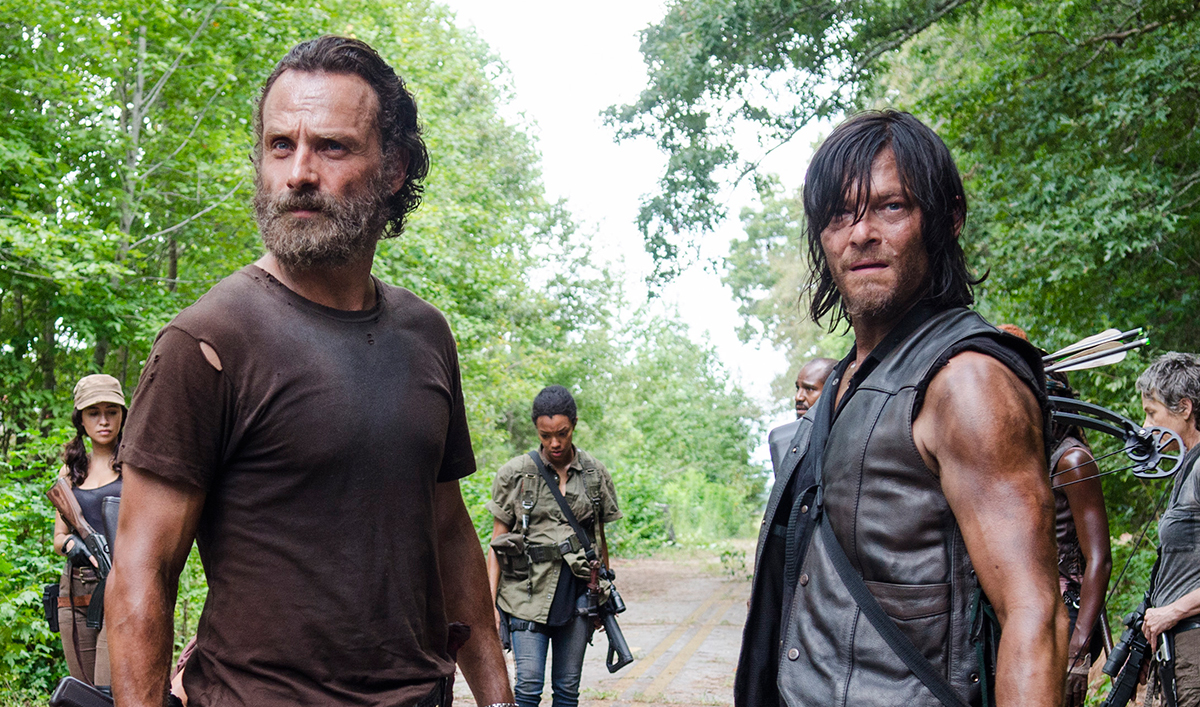 <em>Dead</em> on <em>EW</em> Cover; Andrew Lincoln, Norman Reedus Tease Season 6