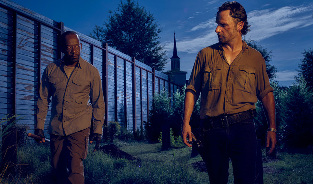 Andrew Lincoln, Lennie James Talk to <em>EW</em>; <em>IGN</em> Chats With Danai Gurira