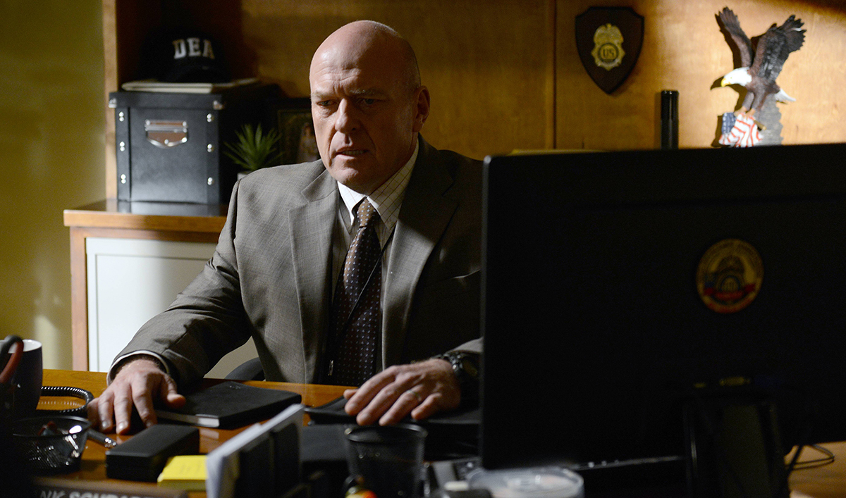 Dean Norris Reflects on <em>Bad</em>; Christian Slater a Vince Gilligan Fan