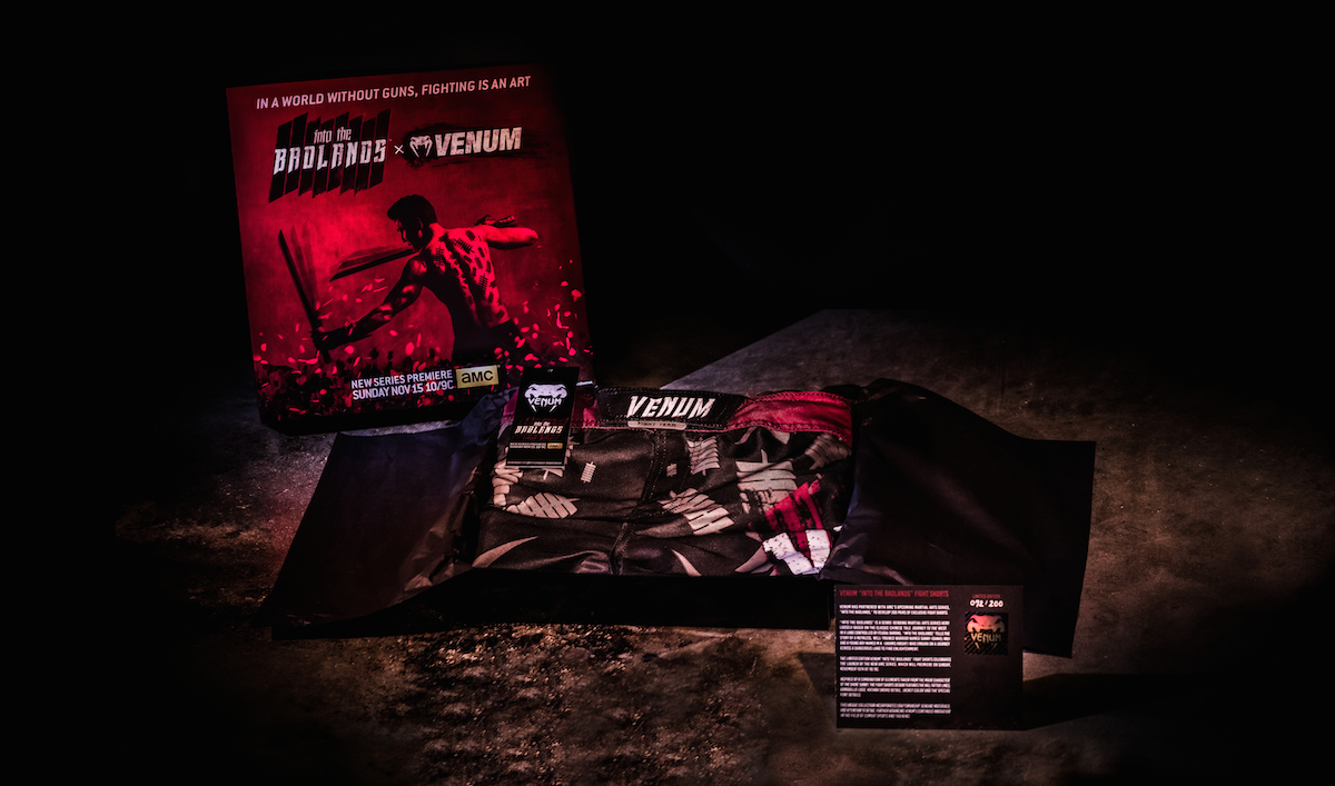 AMC Teams Up With Venum to Offer Exclusive <em>Into the Badlands</em> Fight Gear