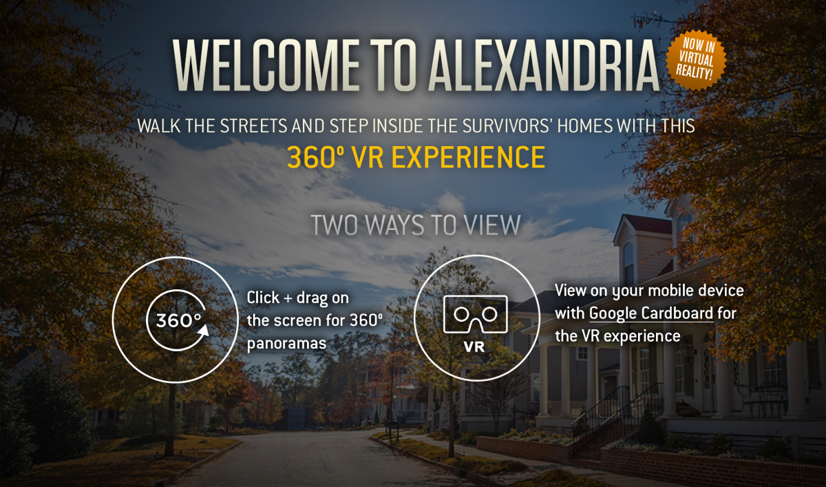 The Alexandria Interactive 360° Tour Now Available in Virtual Reality