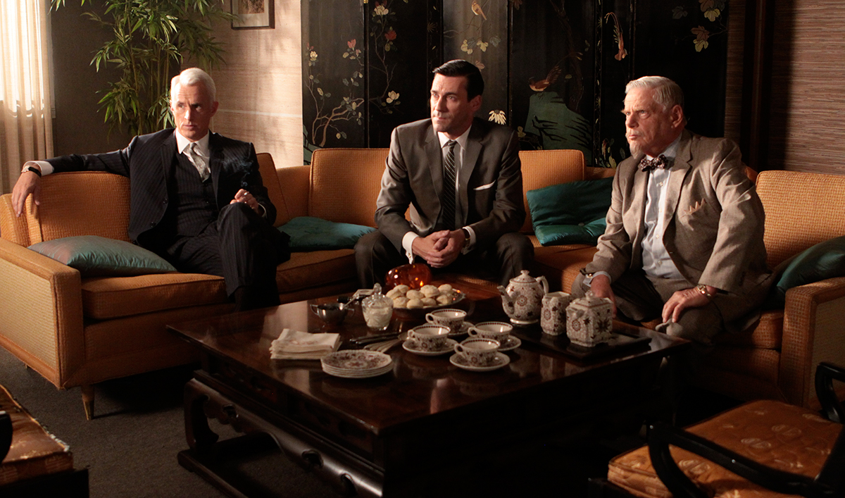 John Slattery, <em>Spotlight</em> Win Acclaim; Jon Hamm in <em>Toast of London</em> Clips