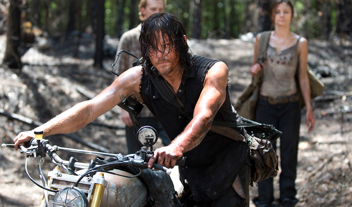 Norman Reedus Talks Latest Episode; Michael Cudlitz on Abraham & Sasha