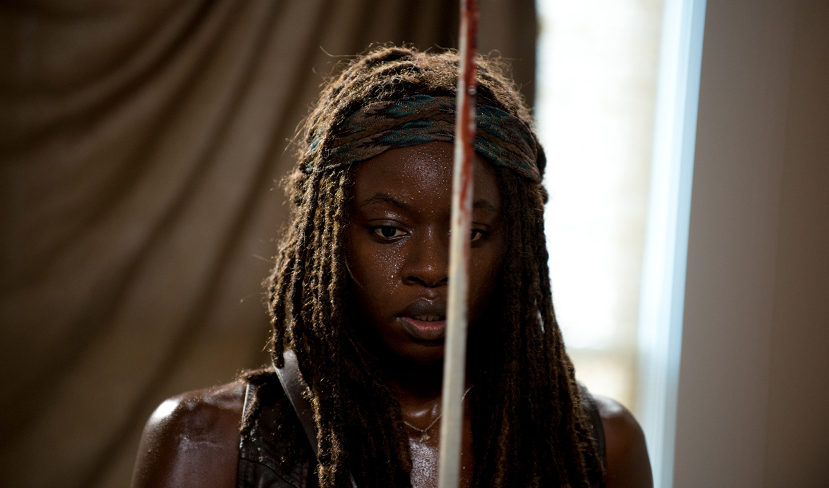 Danai Gurira Books Movie Role; Ross Marquand&#8217;s Celebrity Impressions at <em>VF</em>