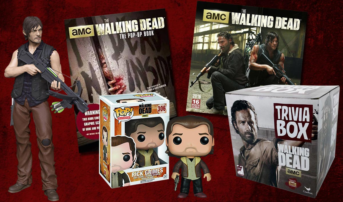Holiday Shopping? Check Out <em>The Walking Dead</em> Holiday Gift Guide First