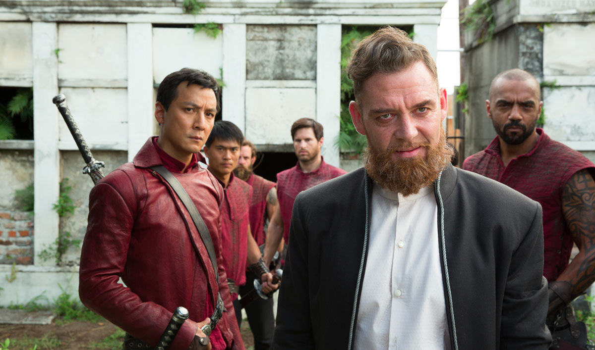 Extras for Episode 4 of <em>Into the Badlands</em>