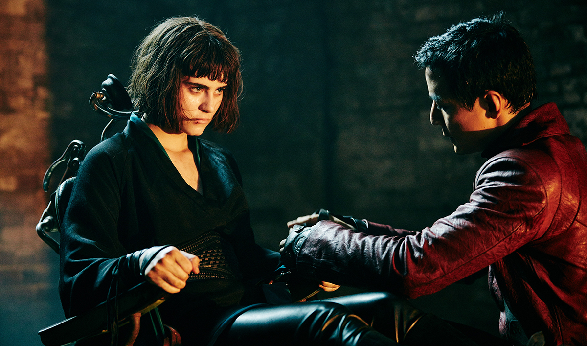<em>EW</em> Touts <em>Badlands</em>; Aramis Knight Chats With <em>TheWrap</em>