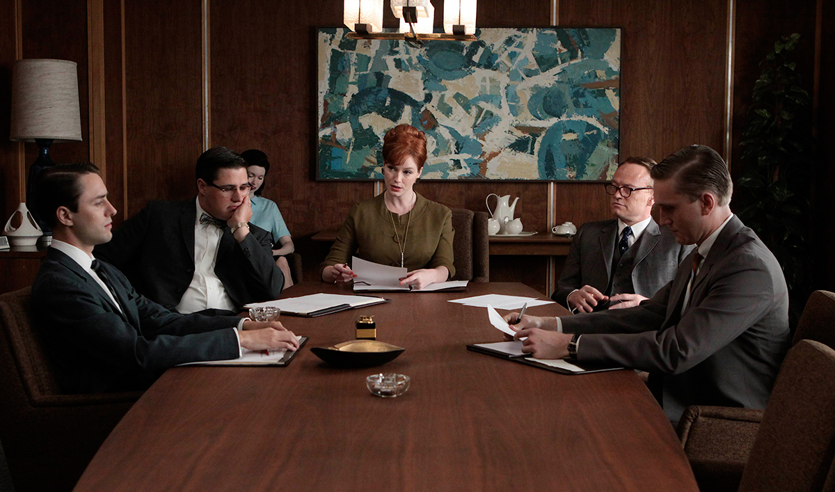 <em>The Telegraph</em> Rates <em>Mad</em> One of All-Time Best; Maggie Siff on <em>Mad Men</em>