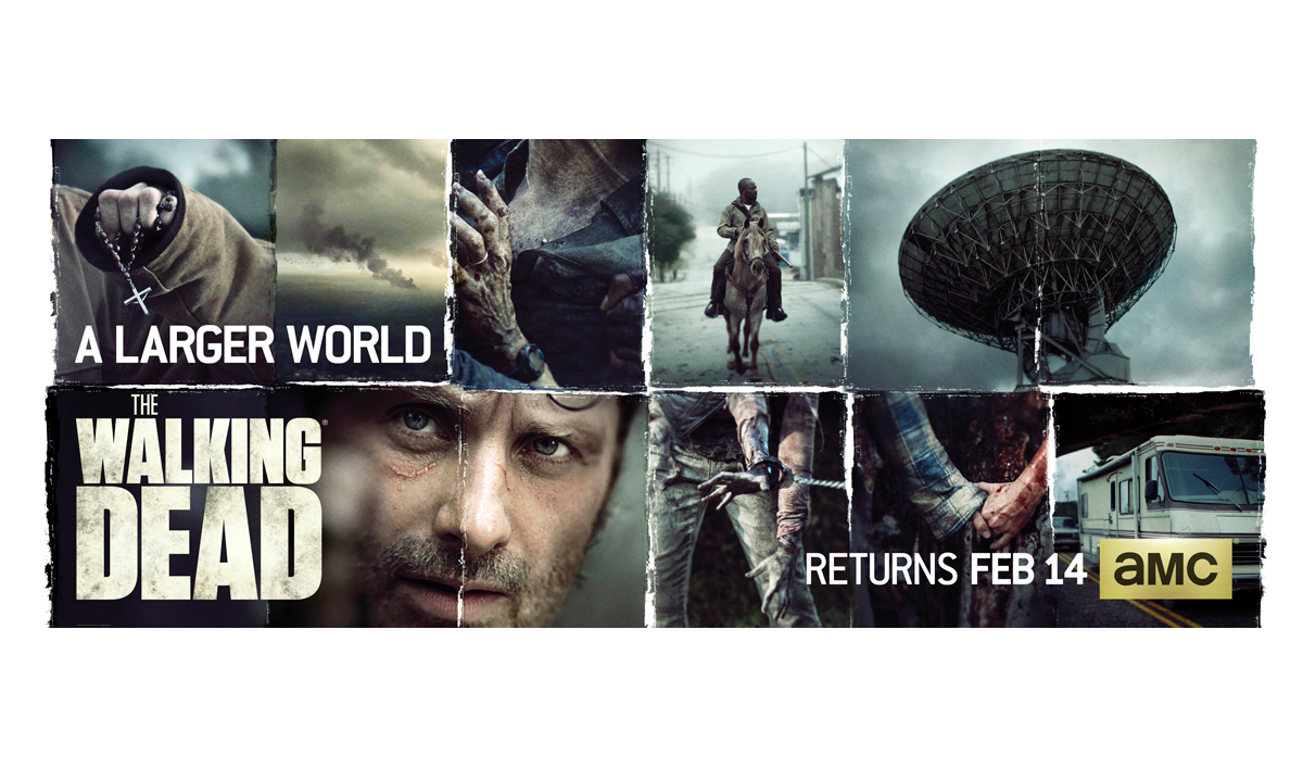 <em>The Walking Dead</em> Season 6 Mid-Season Premiere Poster Revealed
