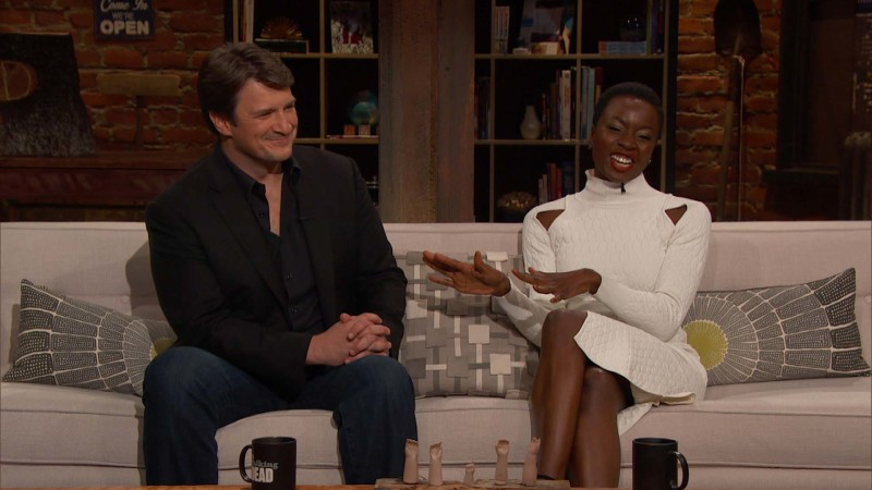 Talking Dead: Highlights: Episode 610: Rick and Michonne
