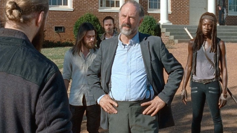 (SPOILERS) Talked About Scene: Episode 611: The Walking Dead: Knots Untie