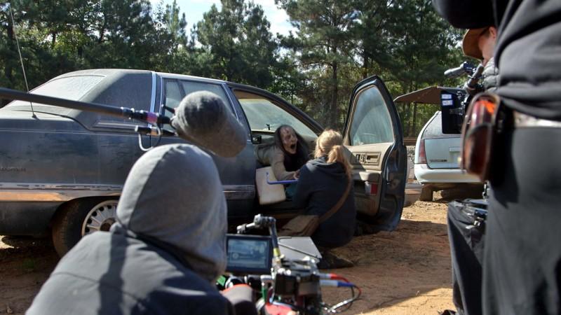 (SPOILERS) Making of Episode 614: The Walking Dead: Twice As Far