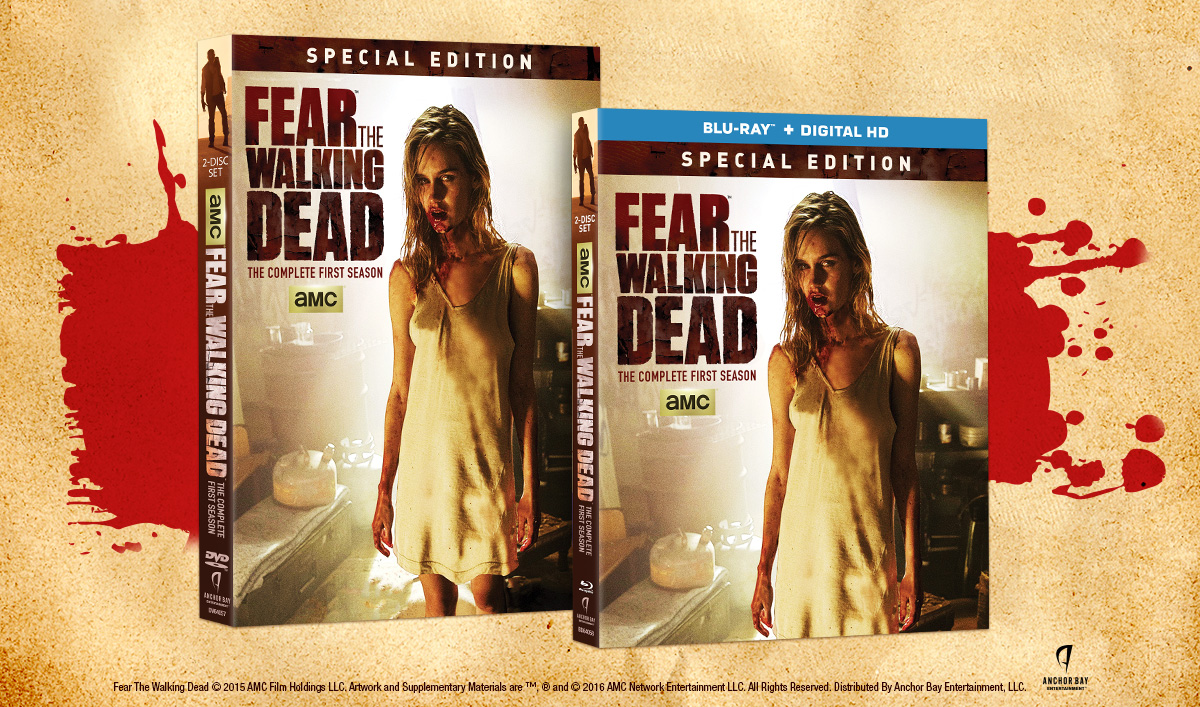 <em>Fear the Walking Dead: The Complete First Season</em> Arrives on Blu-ray, Digital HD and DVD