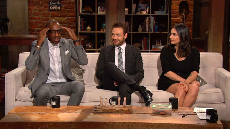 Talking Dead: Highlights: Episode 612: Can Glenn Kill?