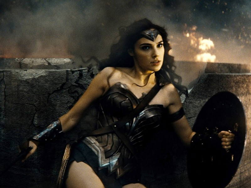 BATMAN V SUPERMAN: DAWN OF JUSTICE, Gal Gadot, as Wonder Woman, 2016. /© Warner Bros. / Courtesy