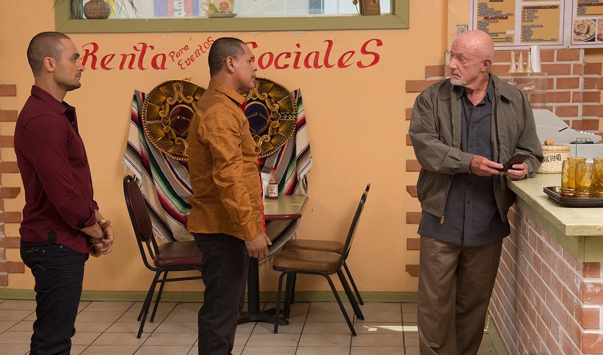 Michael Mando Talks Nacho; Bob Odenkirk Sells Peas