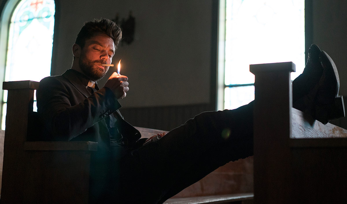 Three New First-Look Images Released for AMC&#8217;s Upcoming Series <em>Preacher</em>