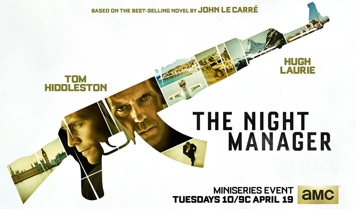 AMC Reveals the Poster for Miniseries Event <em>The Night Manager</em>