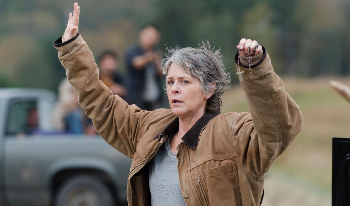 <em>Dead</em> Impresses at NY Comic-Con; Melissa McBride Talks Carol With <em>EW</em>