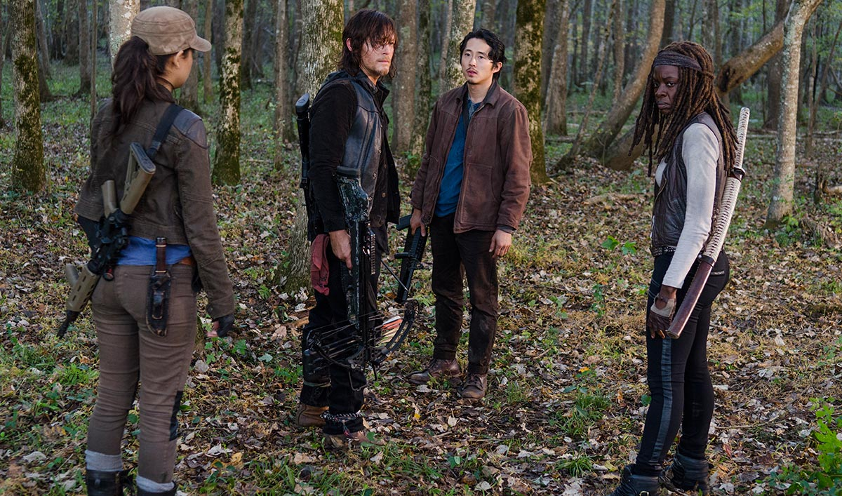 Norman Reedus on Daryl; Robert Kirkman, Gale Anne Hurd Talk Negan