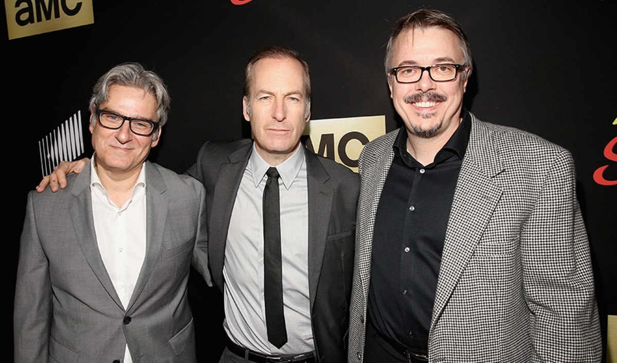 Submit Your Thoughts and Questions to Chris Hardwick and Guests Bob Odenkirk, Rhea Seehorn, Vince Gilligan and Peter Gould During <em>Talking Saul</em>