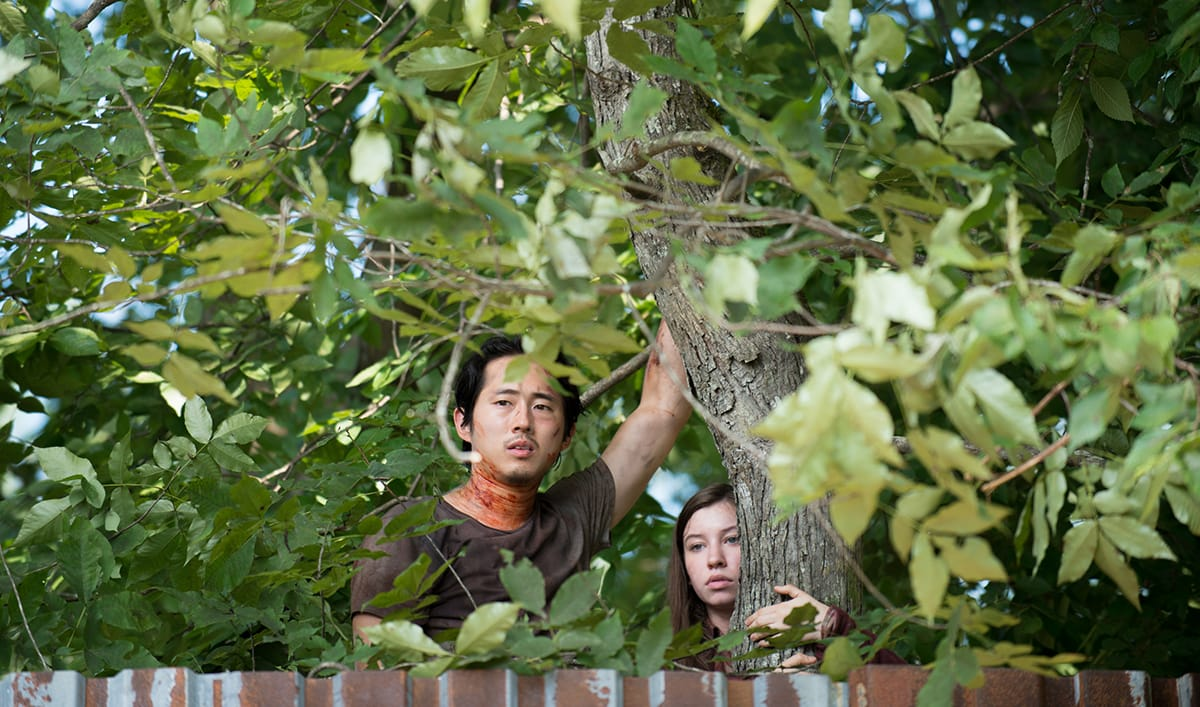 <em>Dead</em> Finale Most-Watched by 18-49; Steven Yeun Visits Korea With Conan