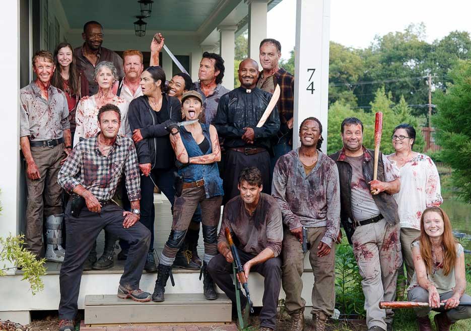 The Walking Dead The Walking Dead Season 6 Behind The Scenes