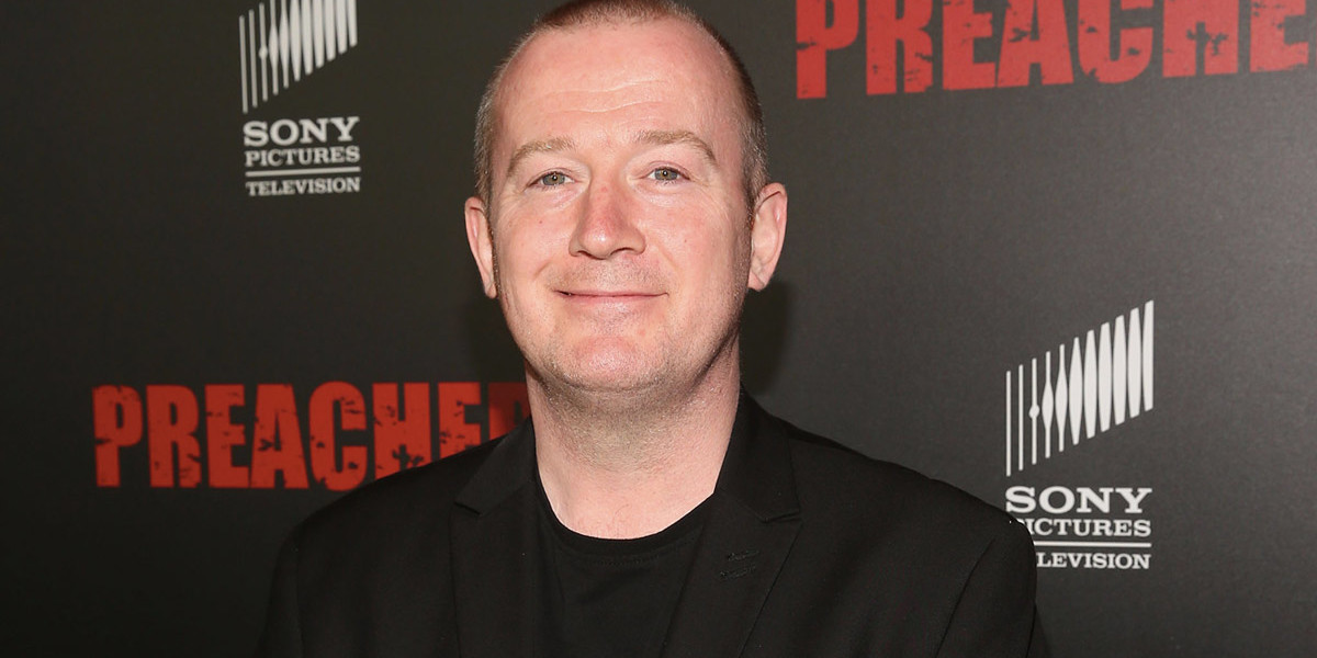 Q&A – Garth Ennis (Comic Book Creator/Co-Executive Producer)