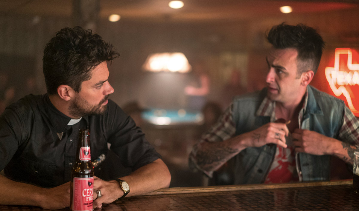 Extras for the <em>Preacher</em> Series Premiere