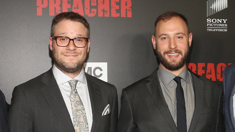 <em>Preacher</em> Q&A – Seth Rogen and Evan Goldberg (Executive Producer/Directors)
