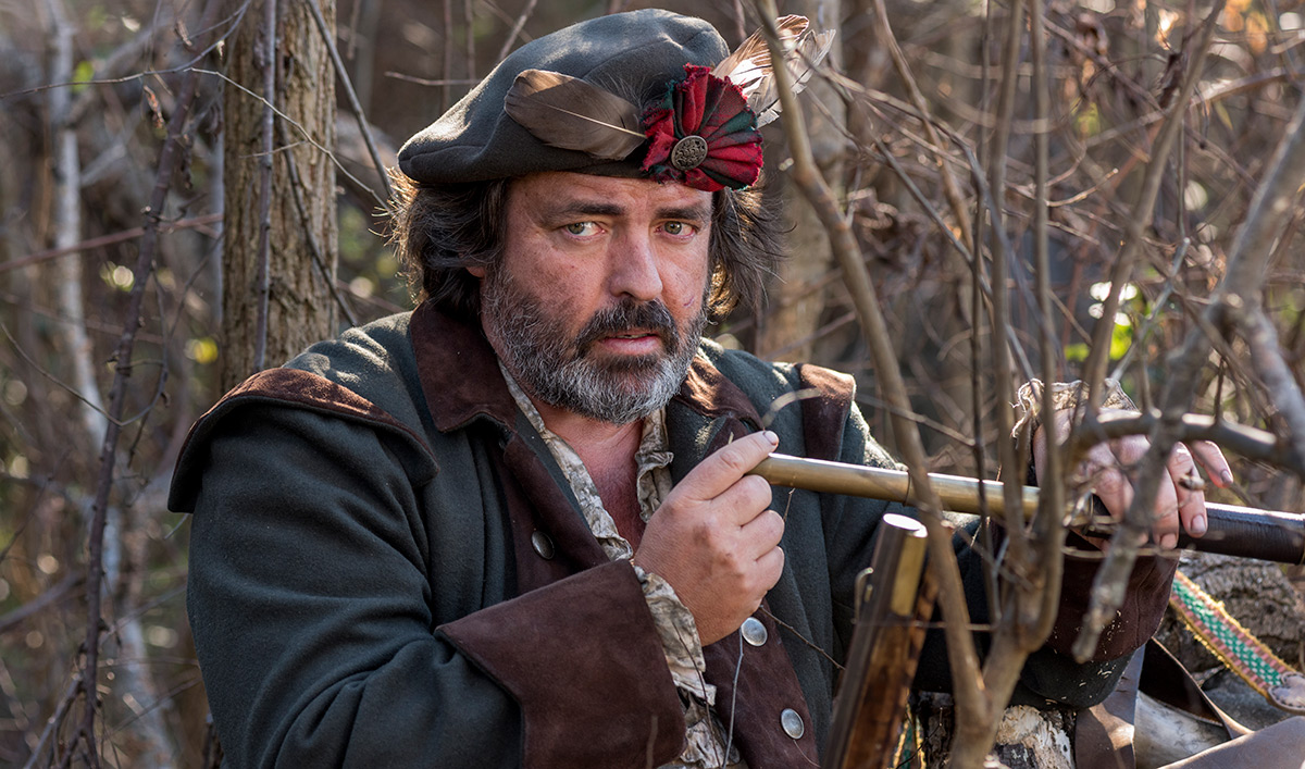 <em>TURN: Washington's Spies</em> Q&A – Angus Macfadyen (Robert Rogers)
