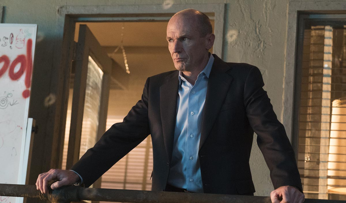 Toby Huss as John Bosworth - Halt and Catch Fire _ Season 3, Episode 1 - Photo Credit: Tina Rowden/AMC