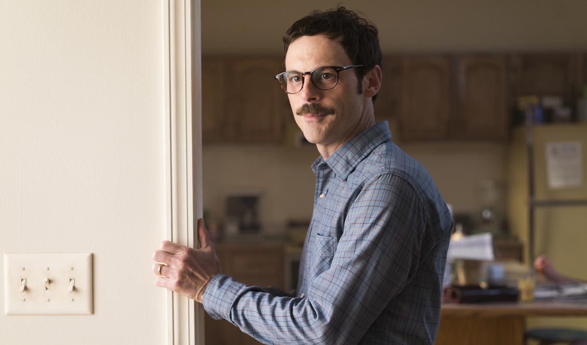 Scoot McNairy as Gordon Clark - Halt and Catch Fire _ Season 3, Episode 1 - Photo Credit: Tina Rowden/AMC