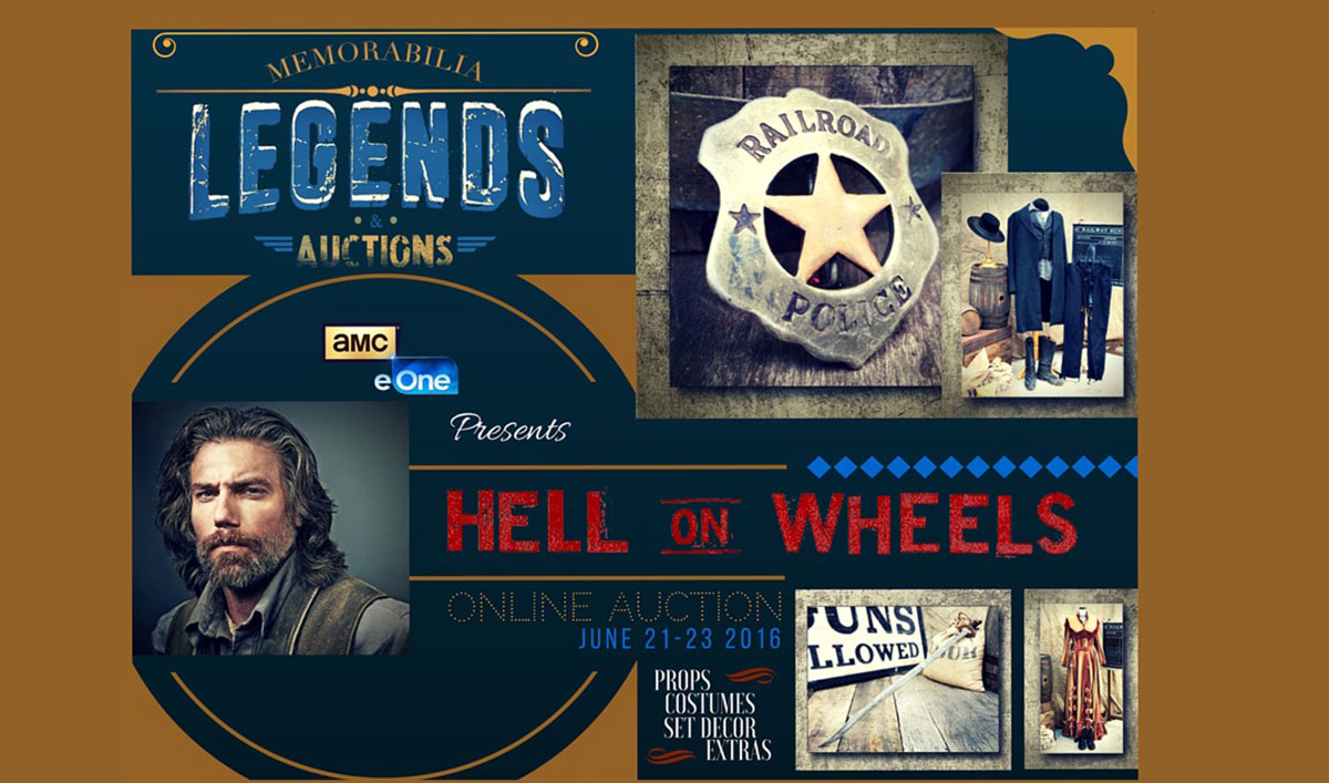 Get a Piece of <em>Hell on Wheels</em> History in an Exclusive Online Auction