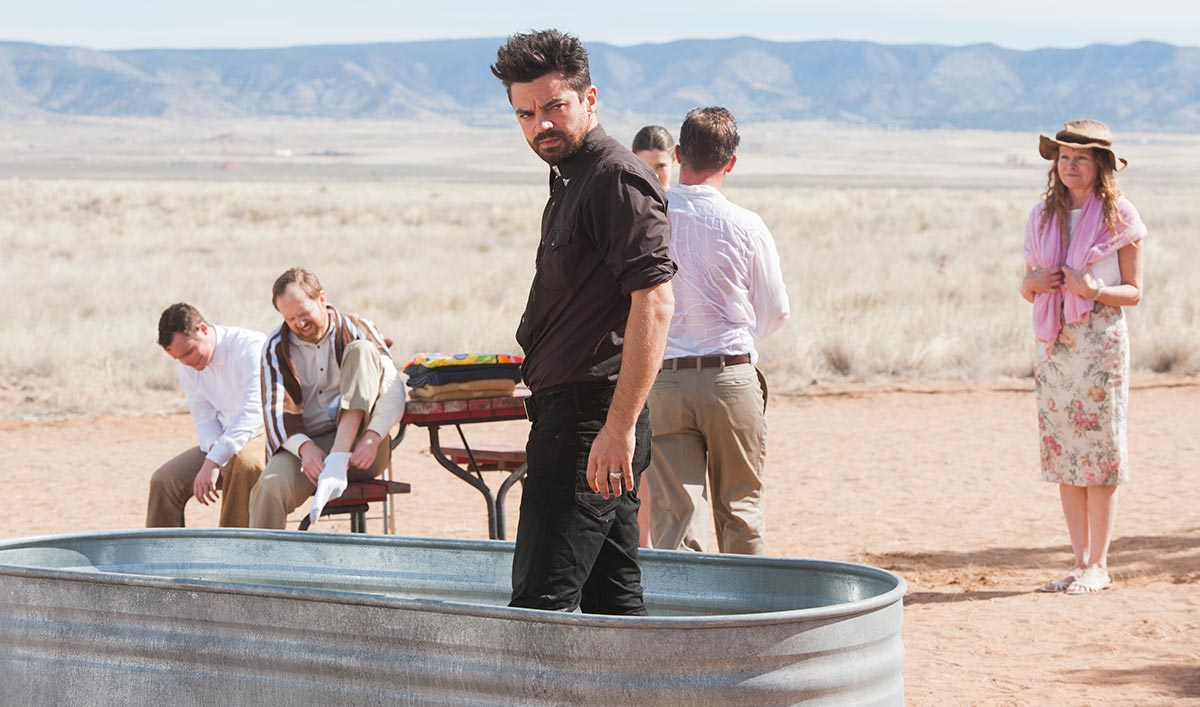 Dominic Cooper Speaks to <em>WSJ</em>; Saint of Killers Explained by Sam Catlin