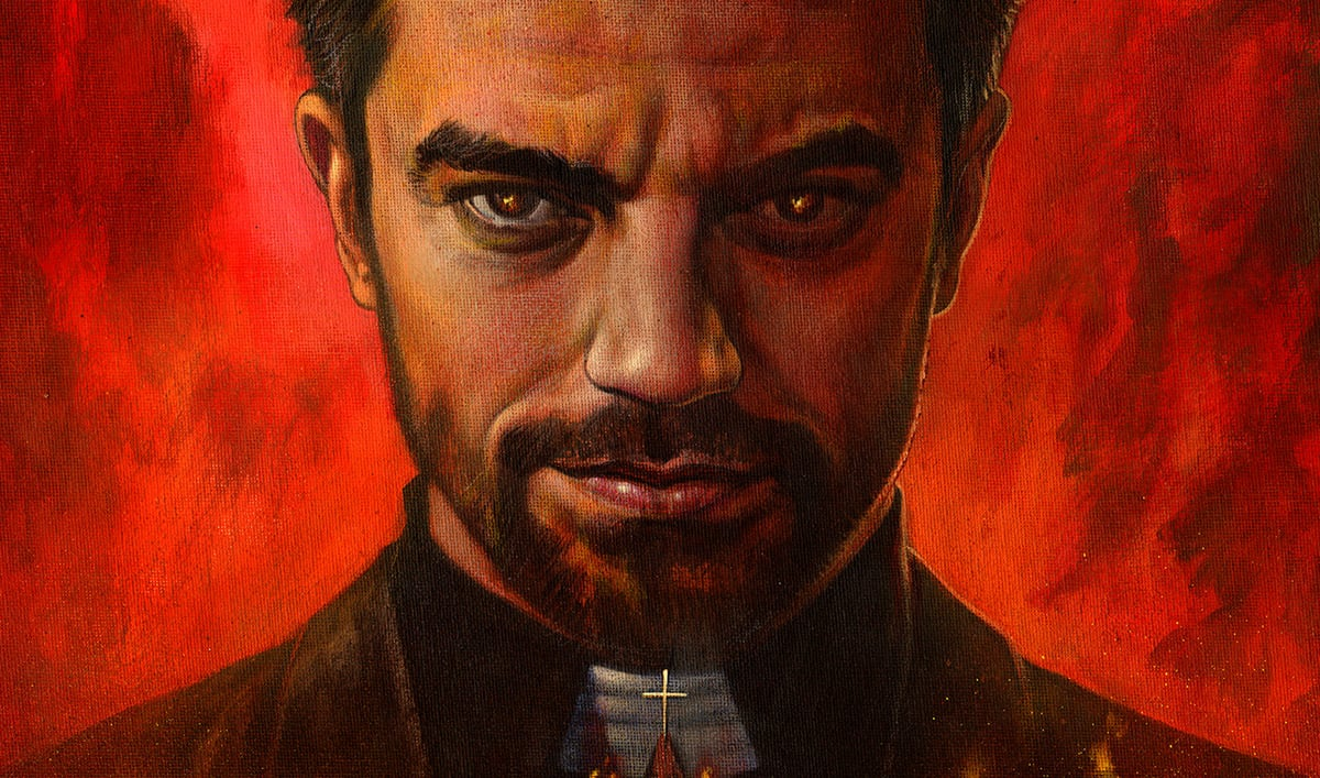 <em>Preacher</em> Artist Glenn Fabry Recreates Iconic Comic Cover
