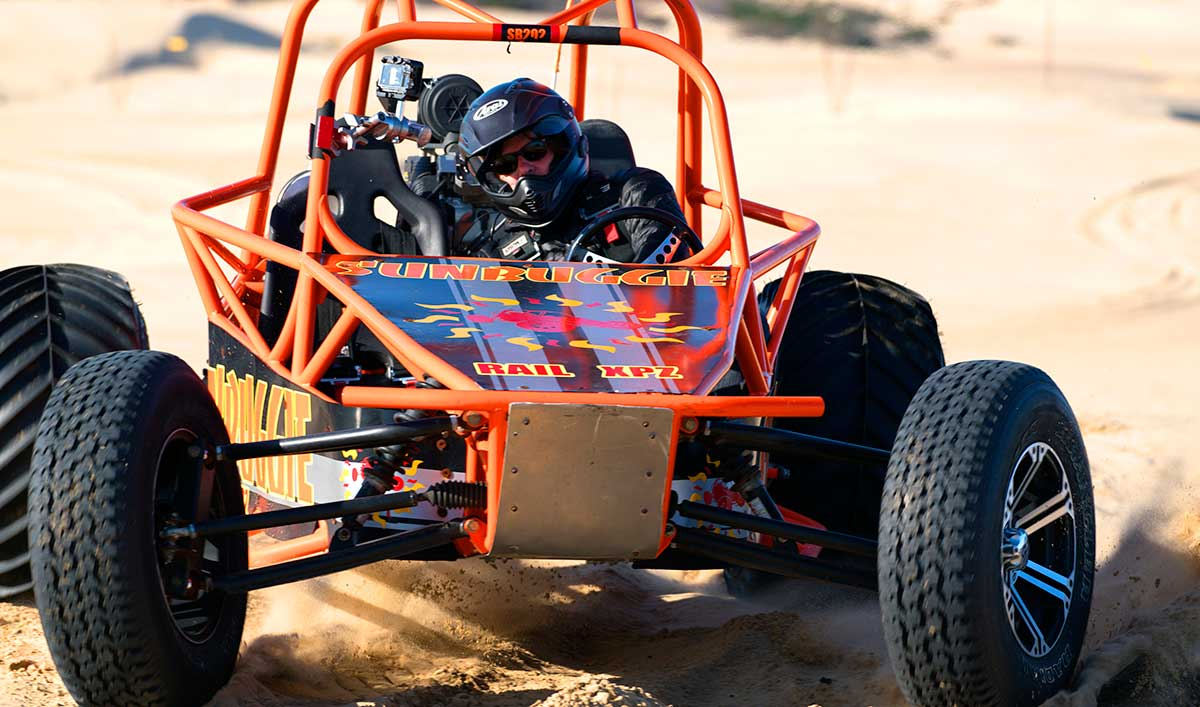 Norman Ditches His Bike For A Dune Buggy