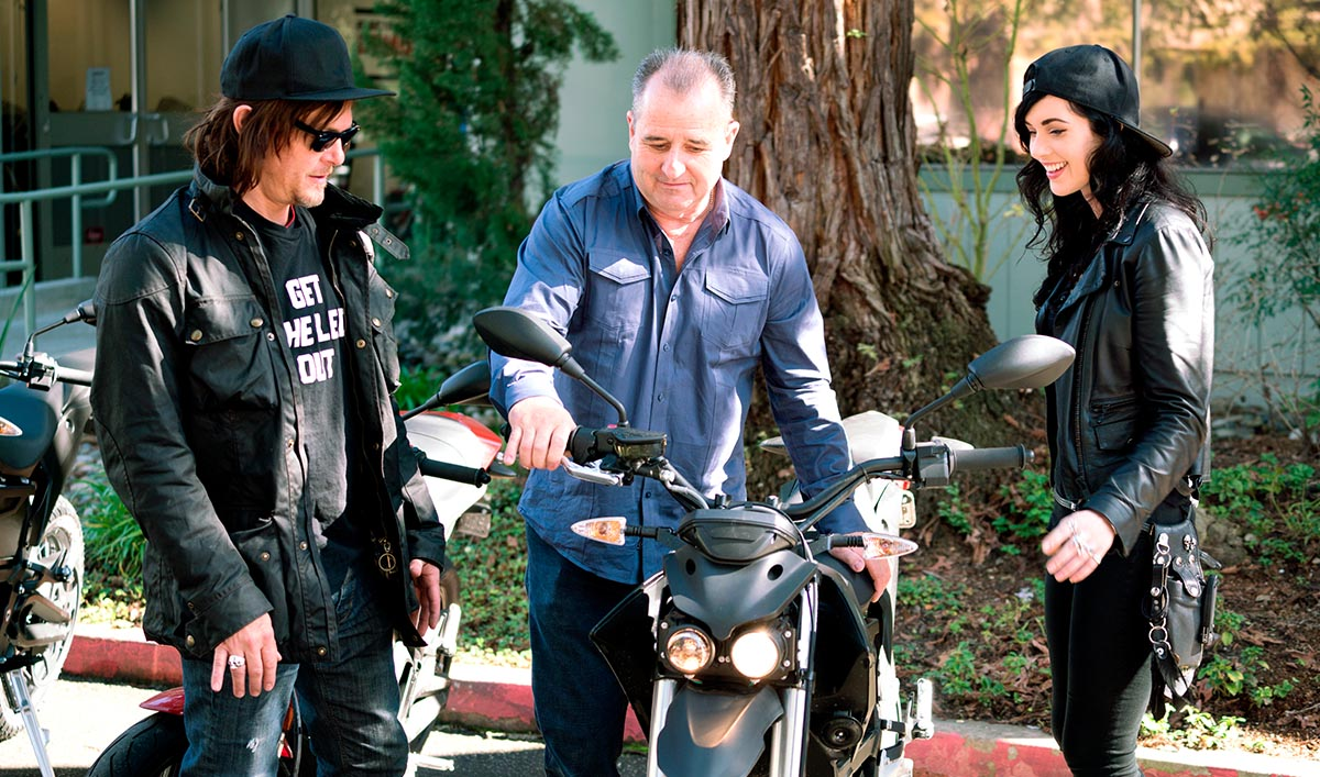 <em>Ride with Norman Reedus</em> Q&#038;A — Scot Harden