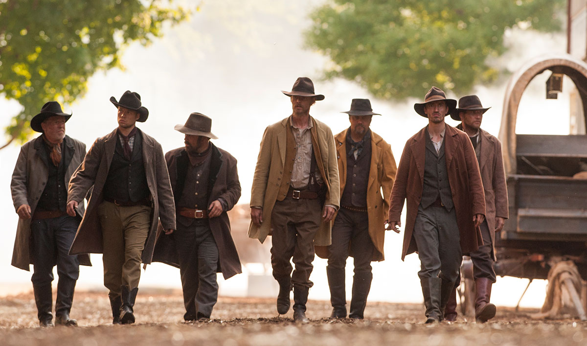 Jesse James and His Gang Rob a Train of Unarmed Union Soldiers
